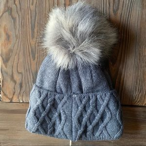 Boutique Village House Ash Blue Insulated Beanie